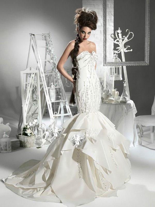 Amazing Mermaid Wedding Dresses 2013 (31)