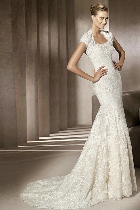 Amazing Mermaid Wedding Dresses 2013 (32)
