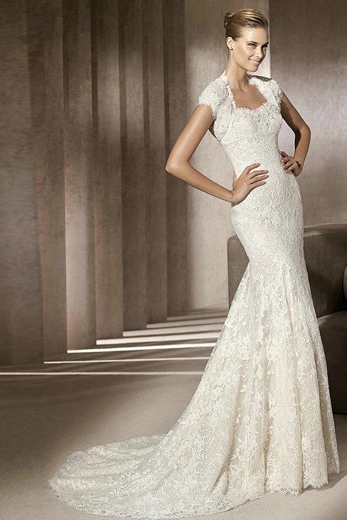 Amazing Mermaid Wedding Dresses 2013 (32)