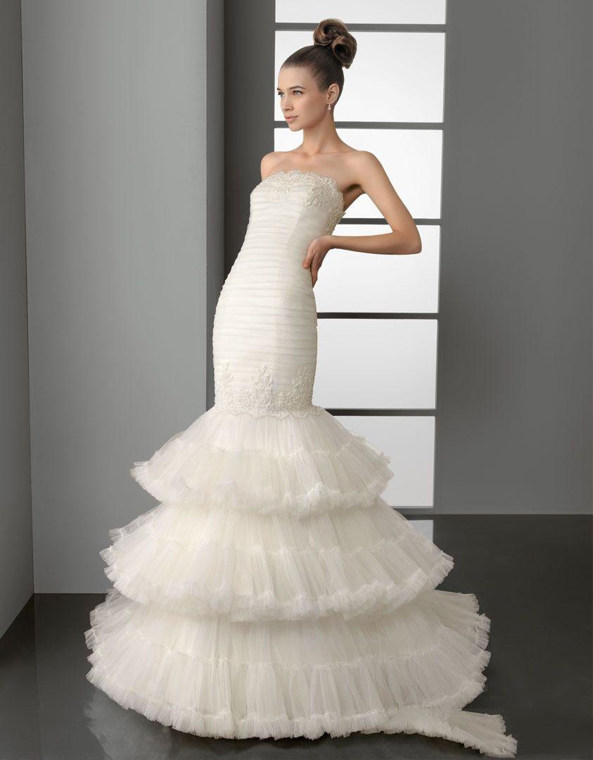 Amazing Mermaid Wedding Dresses 2013 (34)