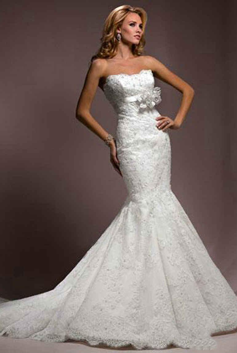 Amazing Mermaid Wedding Dresses 2013 (35)