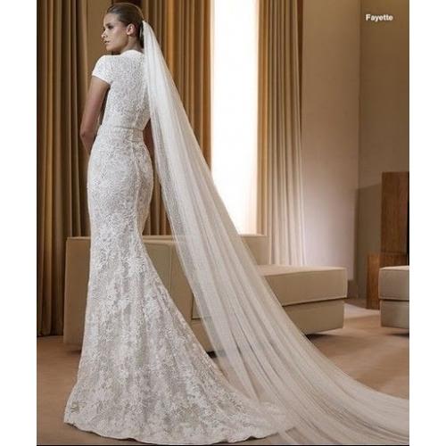 Amazing Mermaid Wedding Dresses 2013 (36)
