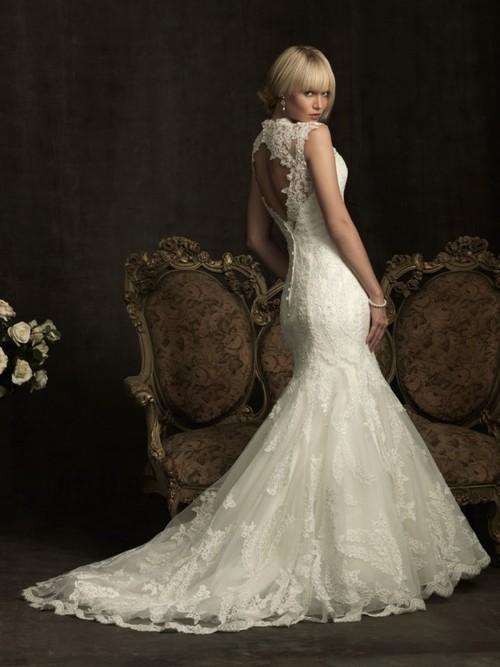 Amazing Mermaid Wedding Dresses 2013 (37)