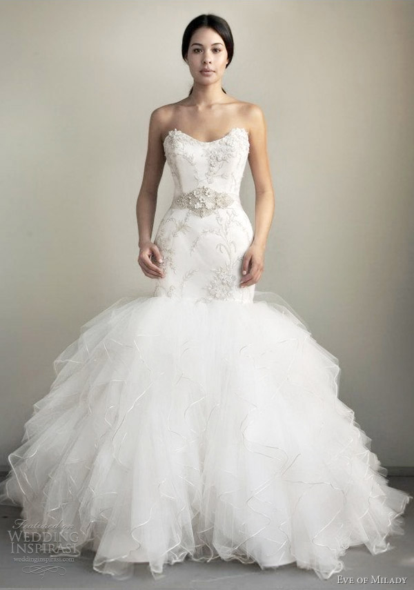 Amazing Mermaid Wedding Dresses 2013 (38)