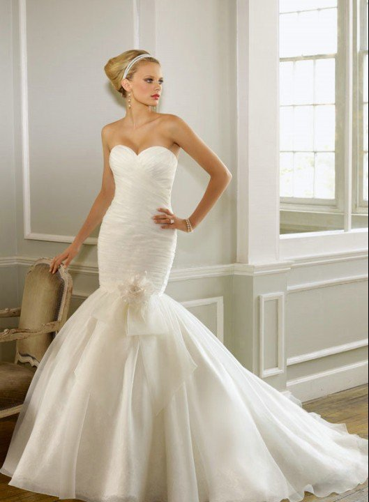 Amazing Mermaid Wedding Dresses 2013 (40)