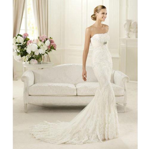 Amazing Mermaid Wedding Dresses 2013 (41)