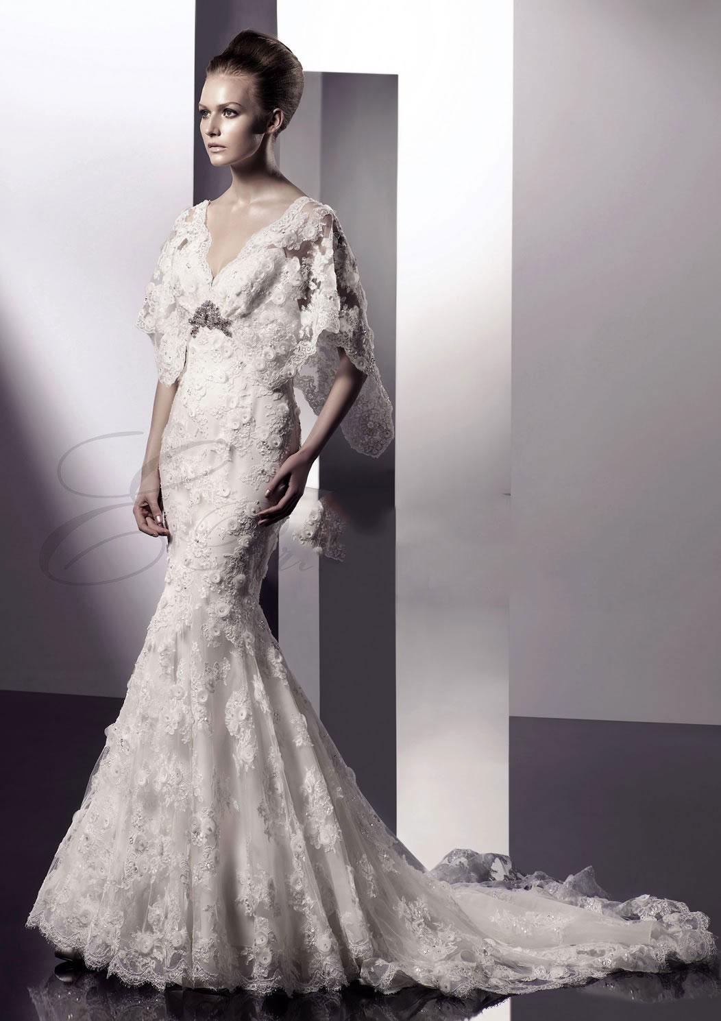 Amazing Mermaid Wedding Dresses 2013 (42)