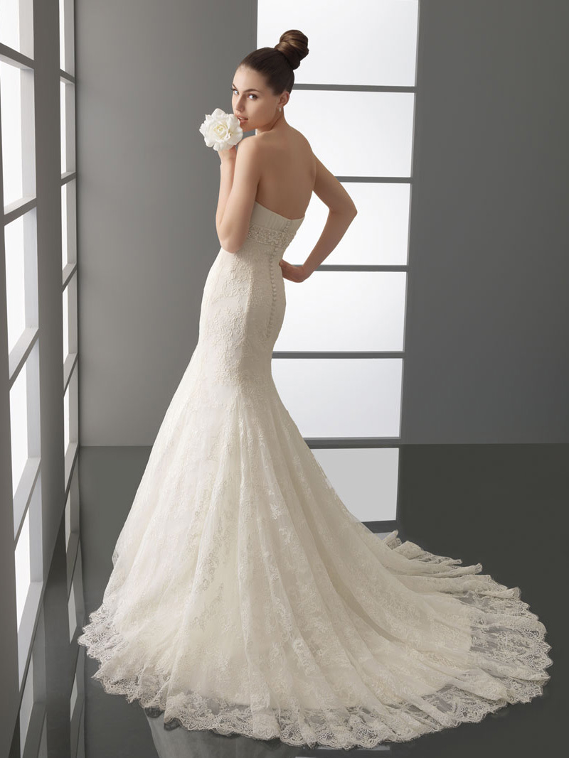 Amazing Mermaid Wedding Dresses 2013 (5)