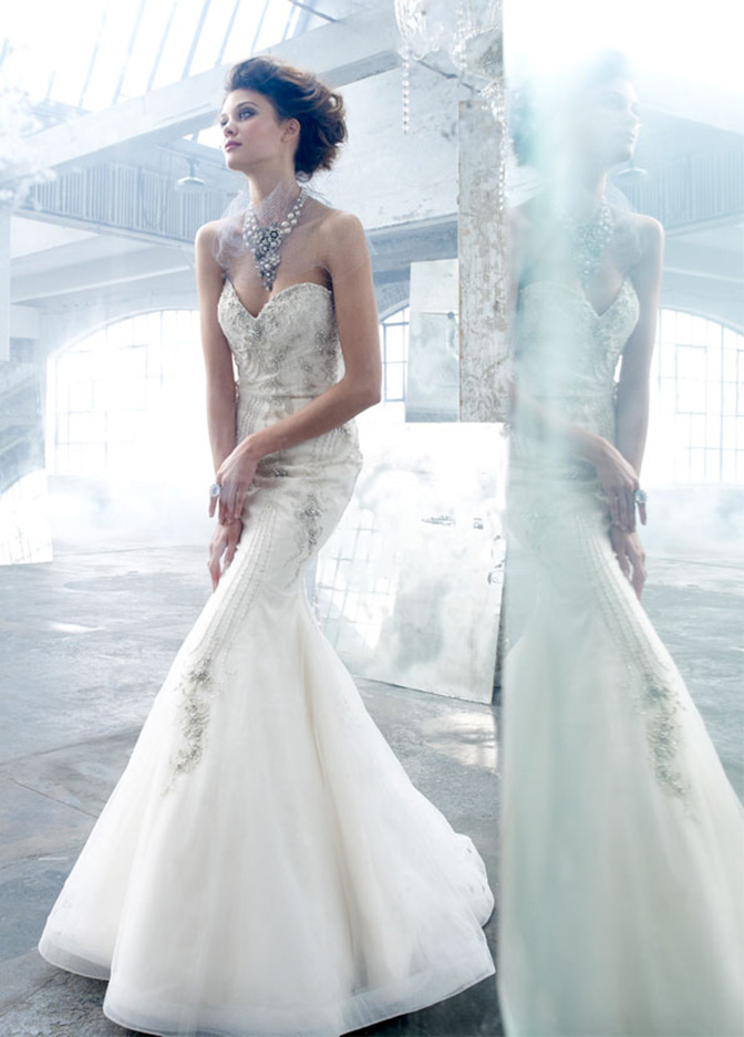 Amazing Mermaid Wedding Dresses 2013 (9)