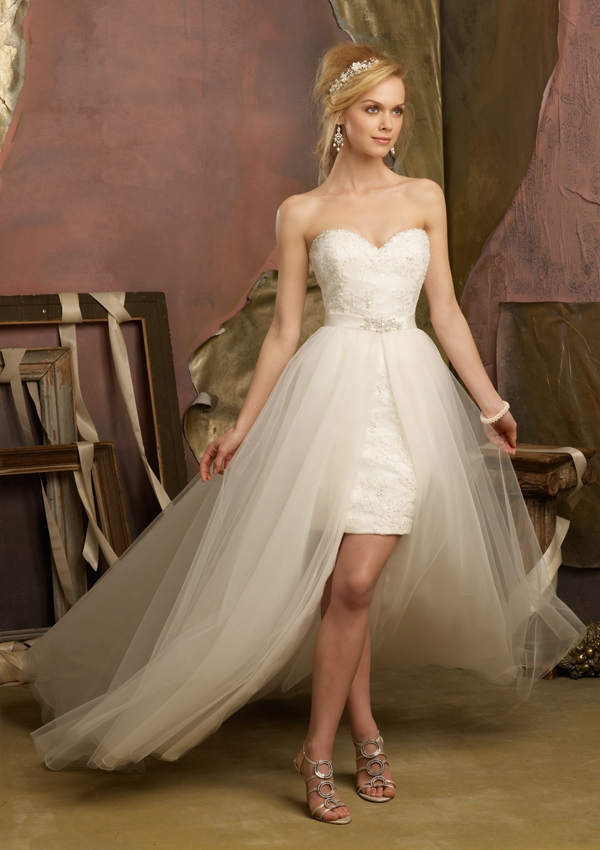 Amazing Short Wedding Dresses (1)