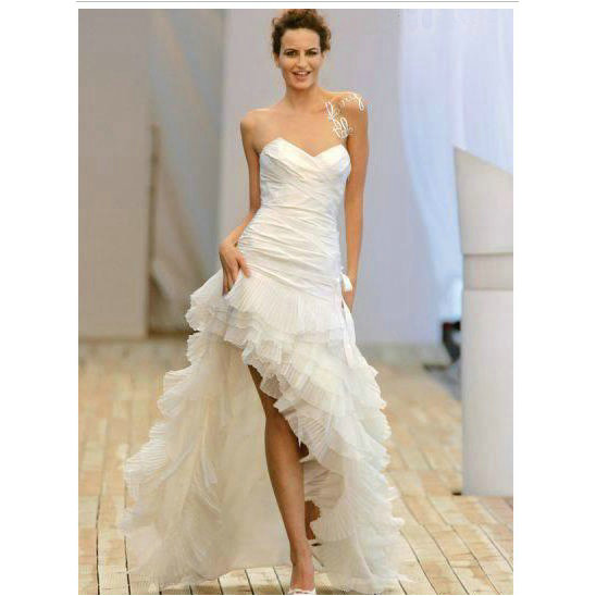 Amazing Short Wedding Dresses (10)