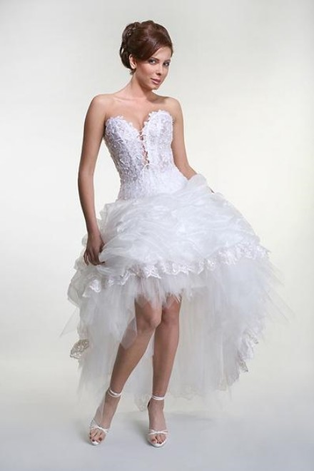 Wedding Dress Short Corset : Amazing short wedding dresses