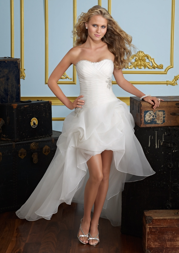 Amazing Short Wedding Dresses (12)