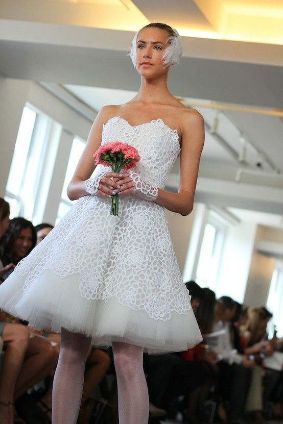 Amazing Short Wedding Dresses (13)