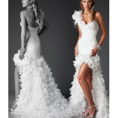 Amazing Short Wedding Dresses (16)