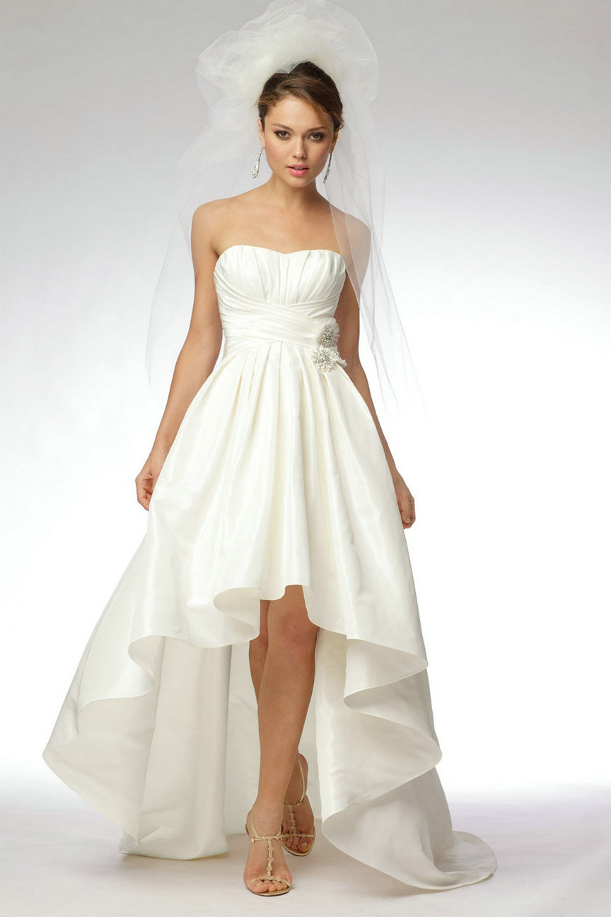 Amazing Short Wedding Dresses (2)