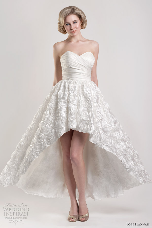 Amazing Short Wedding Dresses (21)