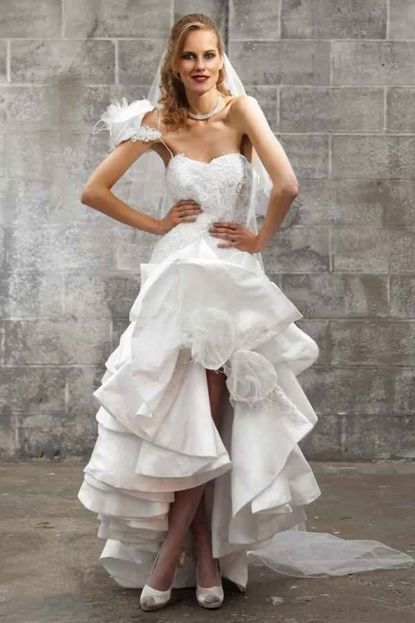 Amazing Short Wedding Dresses (3)