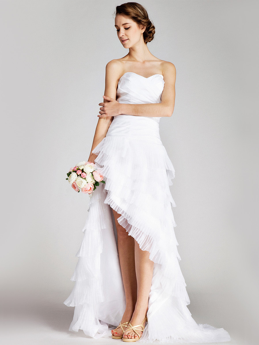 20 amazing short wedding dresses for Good wedding dresses for short brides