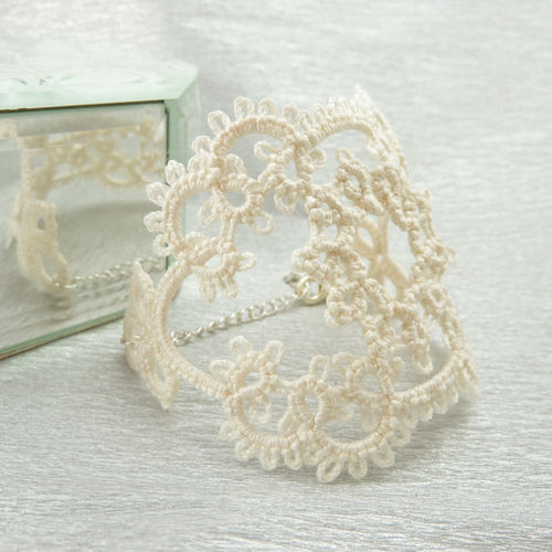 Craft Ideas With Handmade Lace (4)