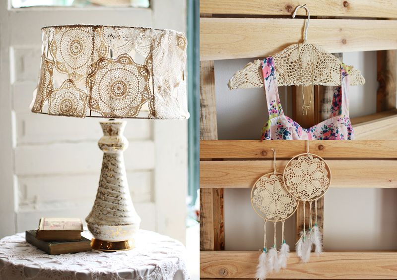 Craft Ideas With Handmade Lace (7)