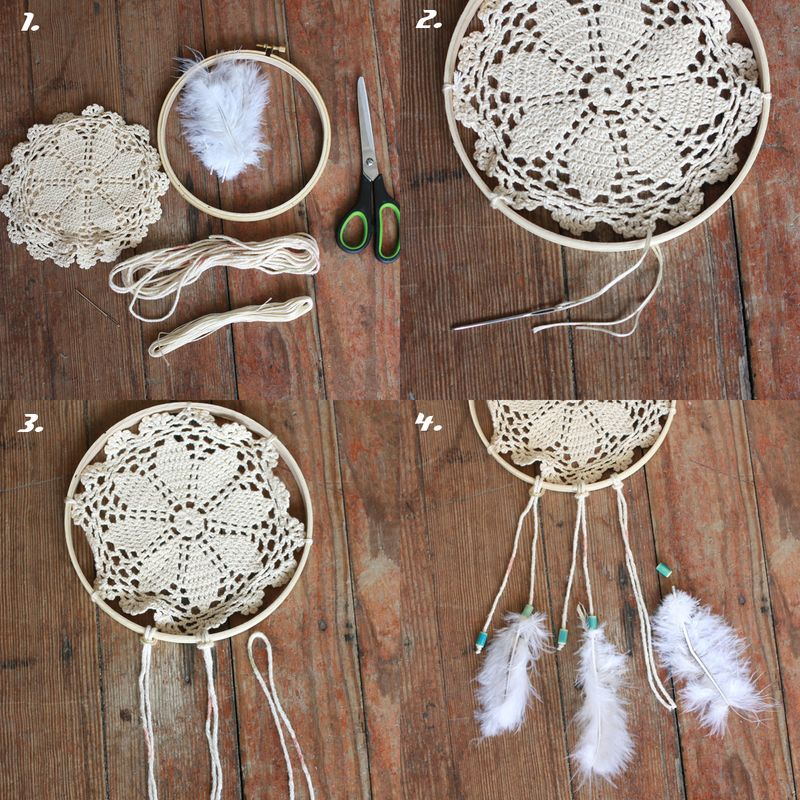 Craft Ideas With Handmade Lace (8)