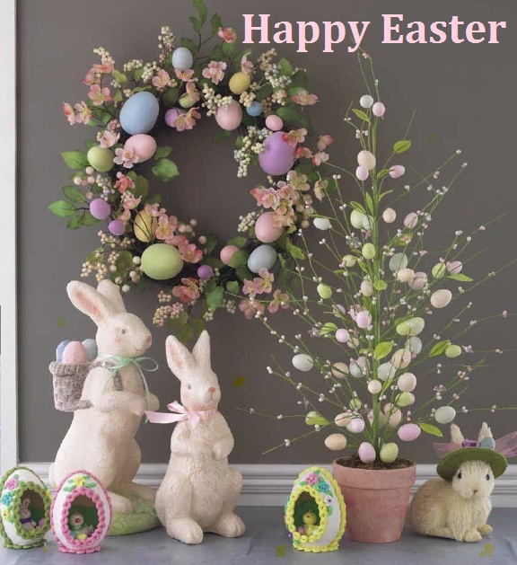 41 fashionable ideas to decorate your home for easter for How to make easter decorations for the home