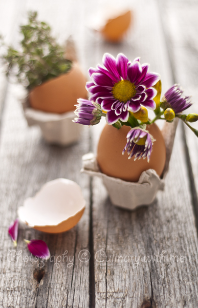 Homemade Easter decoration