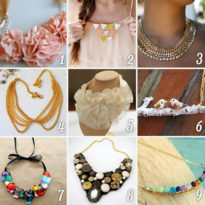 DIY Fashion: 15 Amazing Necklaces