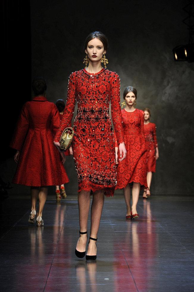 Dolce & Gabbana autumnwinter 2013 (1)