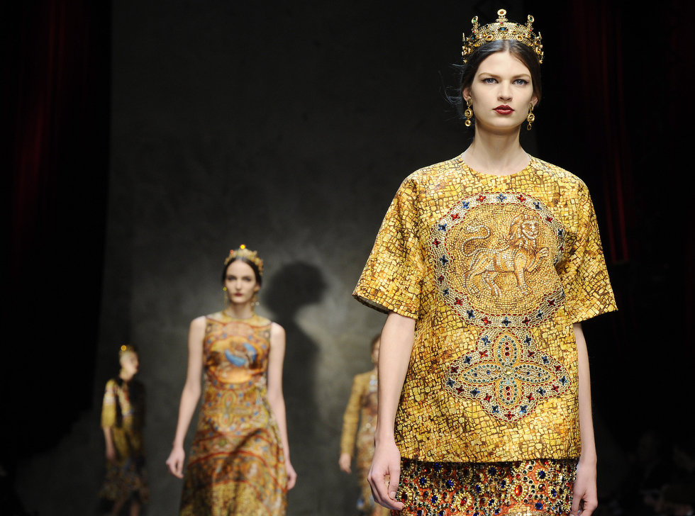 Dolce & Gabbana autumnwinter 2013 (13)