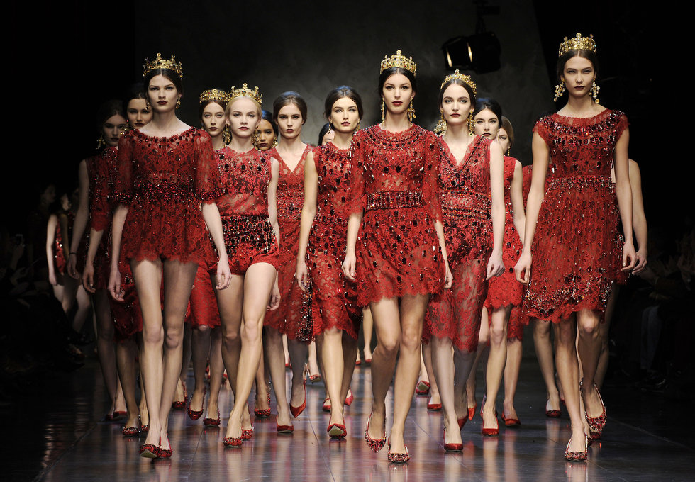 Dolce And Gabana Milan Fashion Week Spring 2013