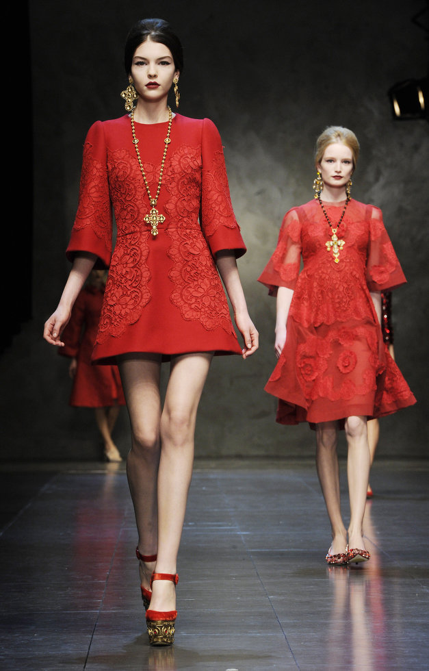 Dolce & Gabbana autumnwinter 2013 (15)