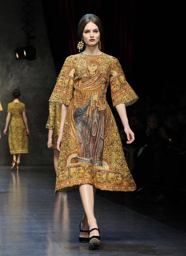 Dolce & Gabbana autumnwinter 2013 (16)