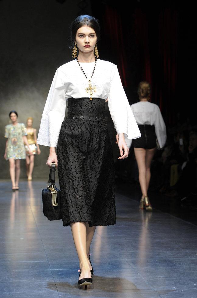 Dolce & Gabbana autumnwinter 2013 (17)