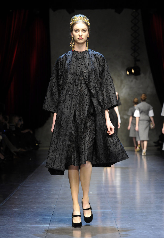 Dolce & Gabbana autumnwinter 2013 (19)