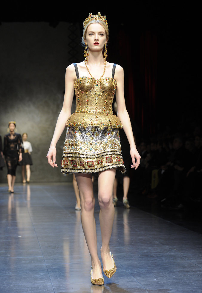 Dolce & Gabbana autumnwinter 2013 (2)