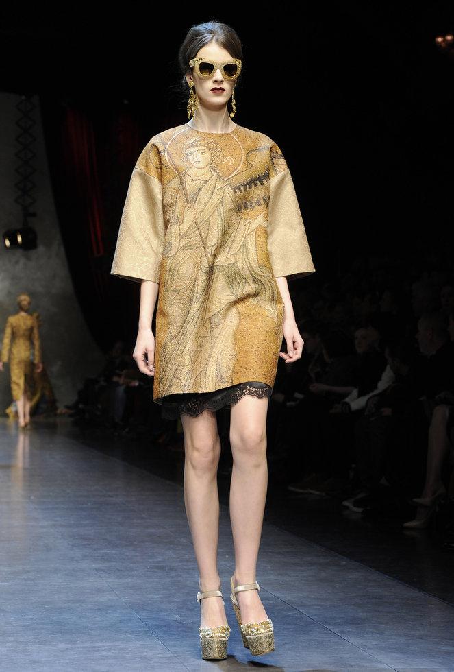 Dolce & Gabbana autumnwinter 2013 (6)
