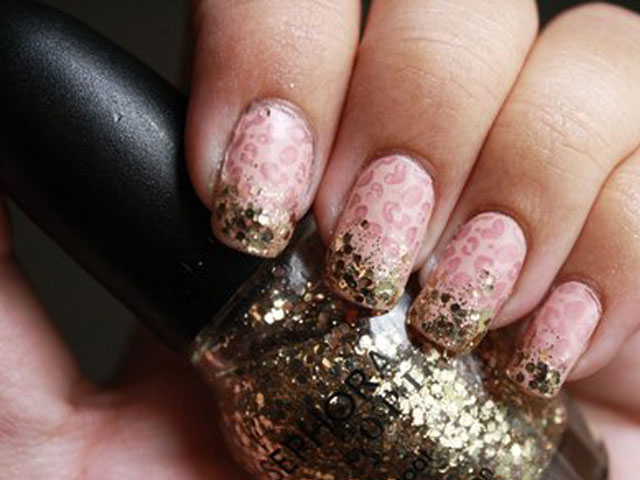 Glitter Nail Polish Ideas  (11)