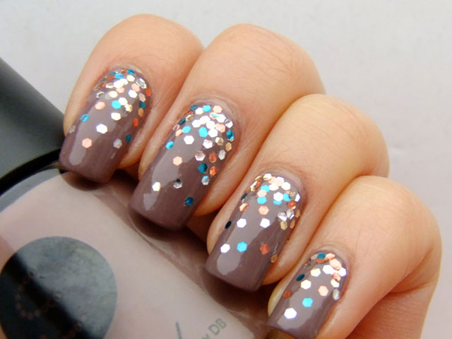 Glitter Nail Polish Ideas  (16)