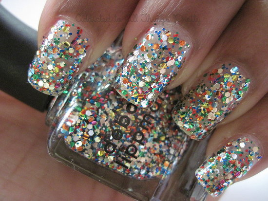 Glitter Nail Polish Ideas  (2)