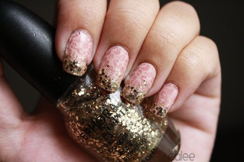 Glitter Nail Polish Ideas  (20)