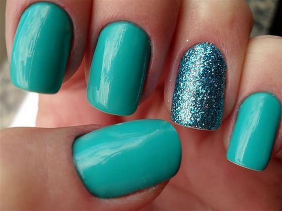 Glitter Nail Polish Ideas  (22)