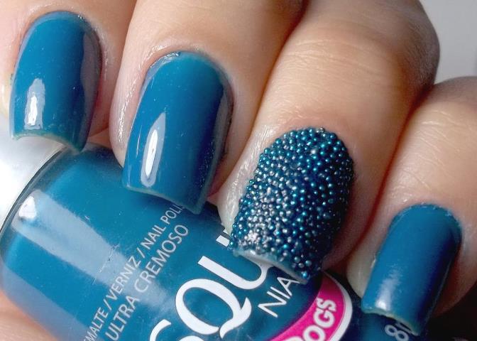 Glitter Nail Polish Ideas  (23)