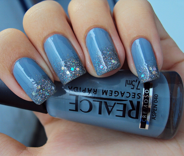 NailArt 101 Best Glitter Nail Polish Pictures Collection 2013