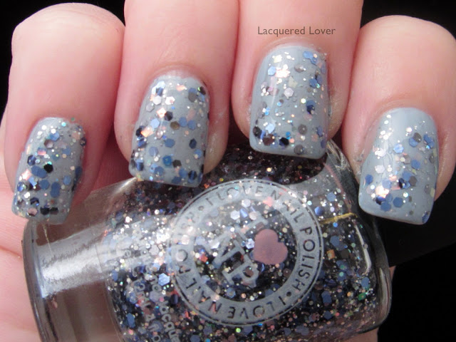 Glitter Nail Polish Ideas  (30)