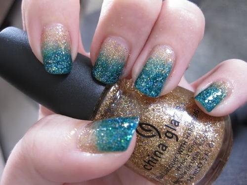 Glitter Nail Polish Ideas  (31)