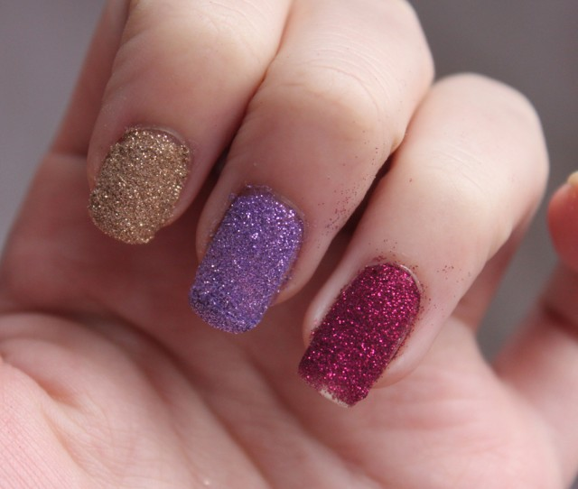 Glitter Nail Polish Ideas  (34)