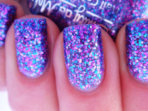 Glitter Nail Polish Ideas  (35)