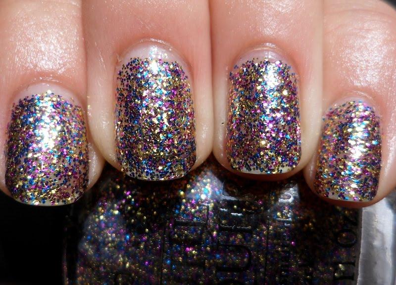 Glitter Nail Polish Ideas  (38)